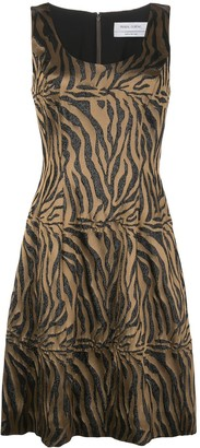 Prabal Gurung Tiger-Print Sleeveless Dress