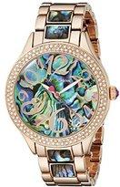 Betsey Johnson Women's BJ00478-04 Analog Display Quartz Rose Gold-Tone Watch
