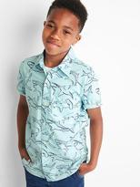 Gap Shark short sleeve shirt