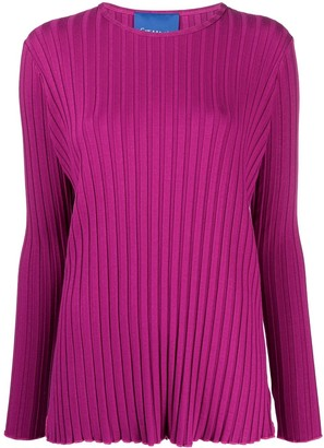 Simon Miller ribbed long-sleeved T-shirt
