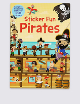 Marks and Spencer Sticker Fun Pirates Book