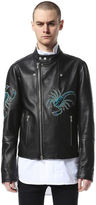 Diesel Black Gold DieselTM Leather jackets BGPRP - Black - 46