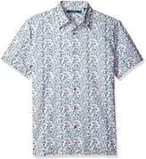 Perry Ellis Men's Floral Painted Shirt