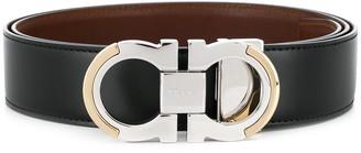 Salvatore Ferragamo two-toned buckle belt