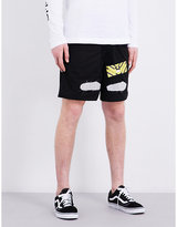 Off-white C/o Virgil Abloh Spray-effect Shell Shorts