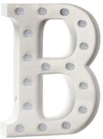 Sweetlights White Letter B Normal Bulbs Lamp