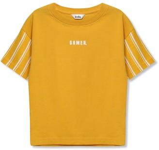 M&Co Slogan gamer t-shirt (3-12yrs)