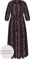 City Chic Sitting Room Floral Maxi Dress