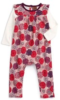 Tea Collection Infant Girl's Nara Double Decker Romper