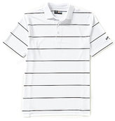Callaway Opti-Stretch Horizontal-Stripe Polo Shirt
