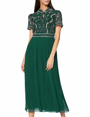 Frock and Frill Women's Karolyn Embellished midi Dress Formal Night