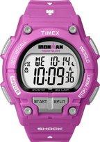 Timex Ironman Shock Resistant 30 Lap Pink Ladies Watch T5K432SU