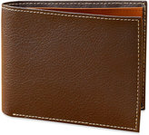 Perry Ellis Men's Leather New York Simple Bifold Wallet