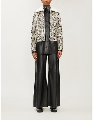 Stand Maj faux-shearling jacket