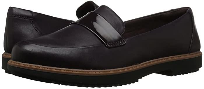 Clarks Raisie Arlie (Aubergine Leather