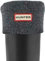 Hunter Boots Women's Glitter Cuff Boot Sock M US