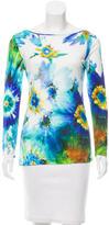 Blumarine Floral Watercolor Top