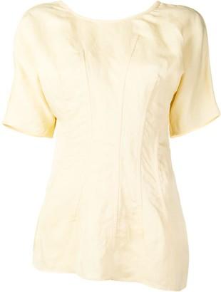 Jil Sander asymmetric T-shirt
