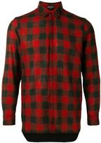 Ann Demeulemeester classic plaid shirt - men - Cotton/Wool - M