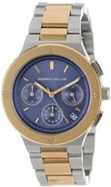 Kenneth Jay Lane Women's 2127 Two-Tone Stainless Steel Watch