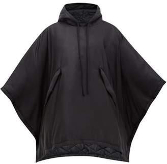 MM6 MAISON MARGIELA Padded Technical Hooded Coat - Womens - Black