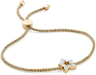 Monica Vinader Alphabet Star Diamond Friendship Bracelet - LIMITED EDITION
