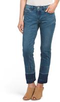 Fray Hem High Waist Jeans