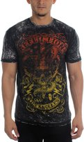 Affliction Mens Voodoo Man Reversible T-Shirt