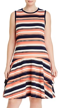 MICHAEL Michael Kors Striped Sleeveless Dress