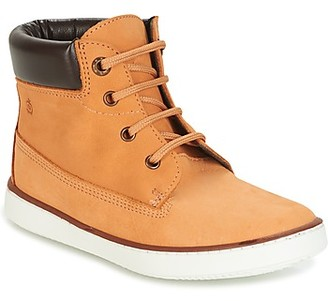 Citrouille et Compagnie HELLOFI girls's Mid Boots in Brown