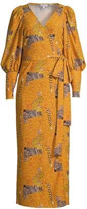 Rhode Resort Aspen Serengeti Wrap Dress