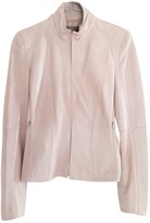 Loewe Pink Leather Leather jackets