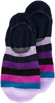 Paul Smith multistripe hidden socks - men - Cotton/Polyamide/Spandex/Elastane - One Size