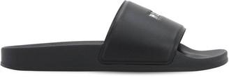 MSGM Logo Tech Slide Sandals