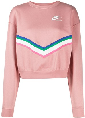 Nike Windrunner retro strip sweatshirt