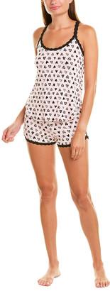 Hanky Panky 2Pc Pajama Short Set
