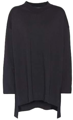 Y-3 Embellished oversized sweatshirt