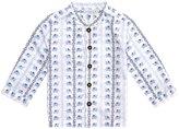 Jo-Jo JoJo Maman Bebe Nehru Shirt (Toddler/Kid)-Blue-2-3 Years