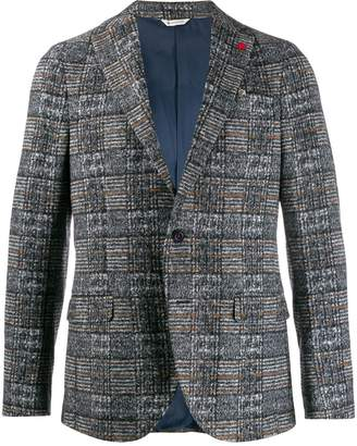 Manuel Ritz checkered jacket