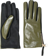 Twin-Set contrast gloves