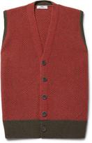 Inis Meáin - Breidin Two-Tone Merino Wool Sweater Vest