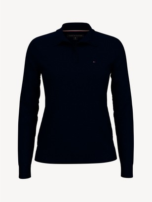 Tommy Hilfiger Essential Split-Neck Sweater