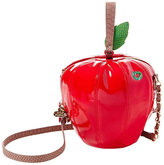 Betsey Johnson Kitsch Big Red Apple Crossbody