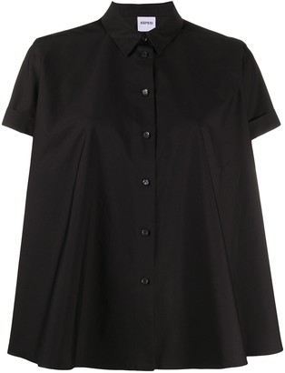 Aspesi Flared Short Sleeve Shirt