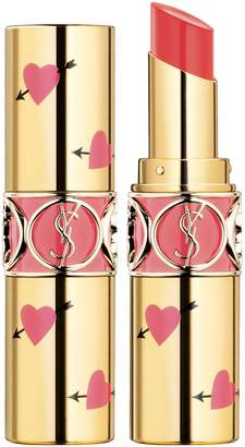 Saint Laurent Heart and Arrow Rouge Volupte Shine Collector Oil-in-Stick Lipstick