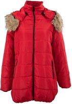 SODIA(R) 2014 Women's padded winter warm fur coar jackets coat jacket S M X XX
