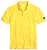 Brooks Brothers University of Michigan Slim Fit Polo