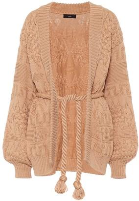 Alanui Torchon cotton-blend cardigan