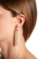Vince Camuto Chain Fringe Jacket Earrings