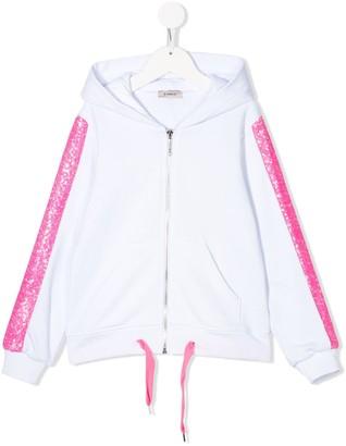 Pinko Kids Sequinned Applique Hoodie